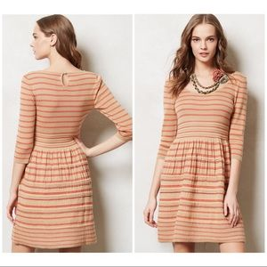 Knitted & Knotted Elodie Striped Sweater Dress